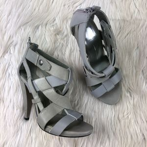 Dolce Vita Cage Heeled Sandals Pump